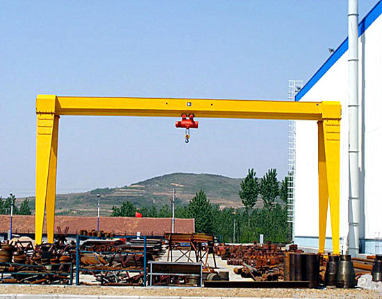 10 ton single girder crane for sale