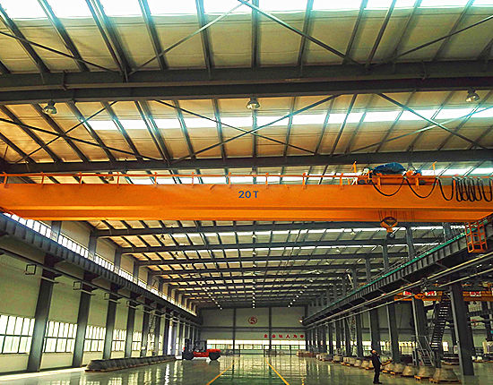 20 ton overhead crane provided by Ellsen