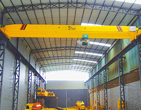 5 ton overhead crane supplied by Ellsen