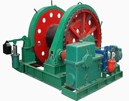 Quality mine winches from Ellsen