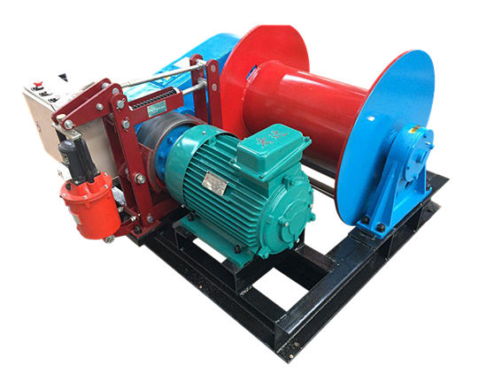 Construction winch from Ellsen