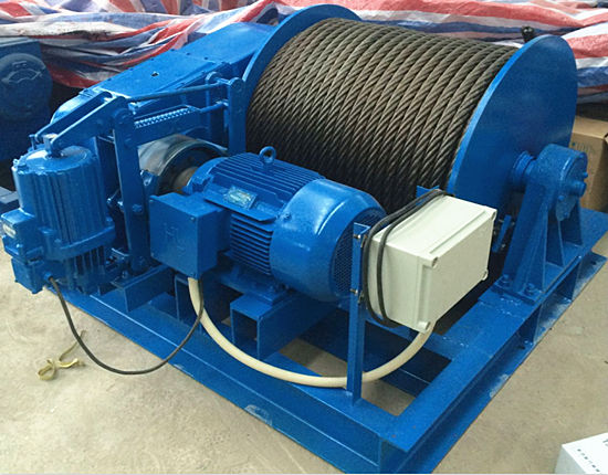 Electric winch from our company
