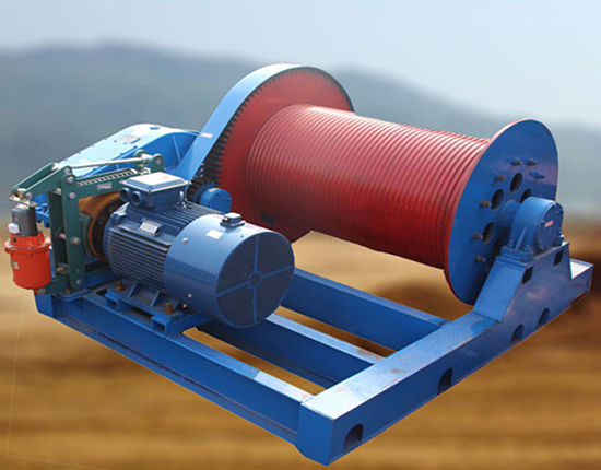 Ellsen electric heavy duty winch
