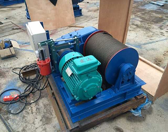 3 ton slow speed winch