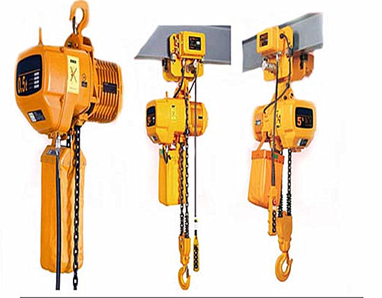Chain hoist supplied by Ellsen