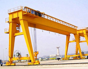 Double girder gantry crane from us