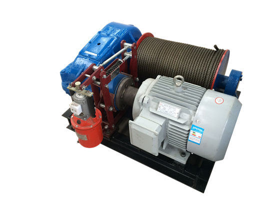 Electric winches supplied by Ellsen