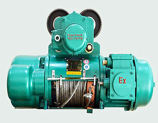 Electric hoists from Ellsen