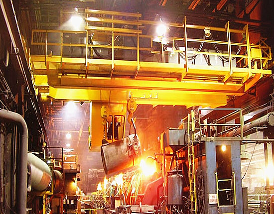 Foundry crane for sale