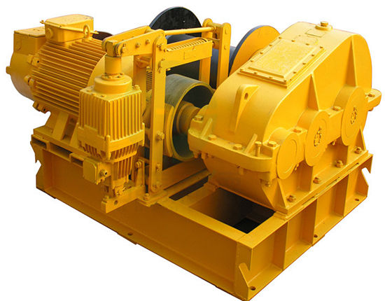 Heavy duty construction winch