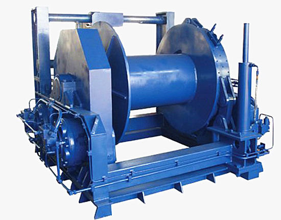 Hydraulic Winch from Ellsen