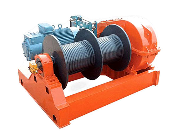 Double drum winch for sale