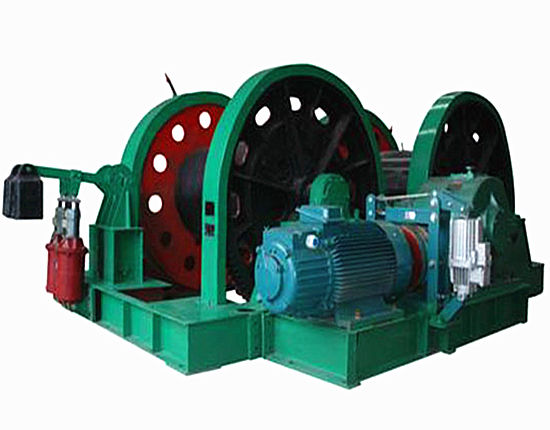 Mining winch provided by Ellsen