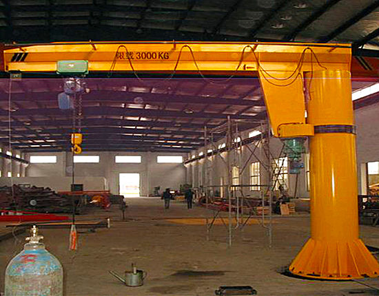Pillar mounted jib crane for sale