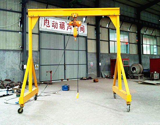 1 ton gantry crane supplied by Ellsen