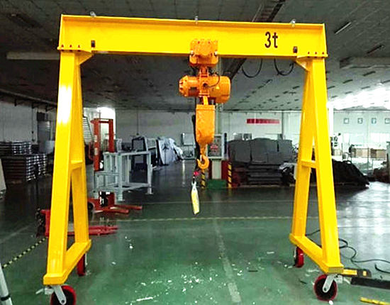 Portable gantry crane from Ellsen