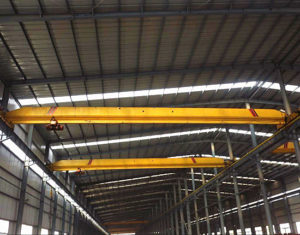 Single girder crane supplied by us