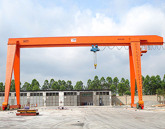 Reliable gantry crane manufacturer