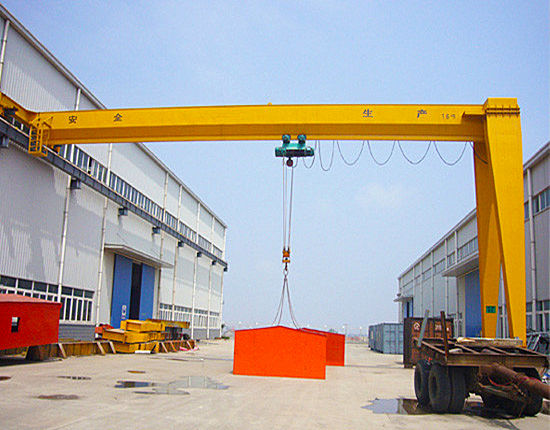 Single girder semi crane for sale