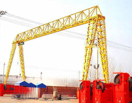 Single girder truss gantry crane for sale