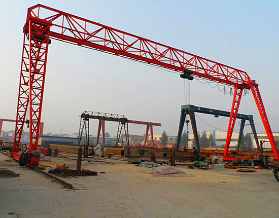 Single girder gantry crane from Ellsen