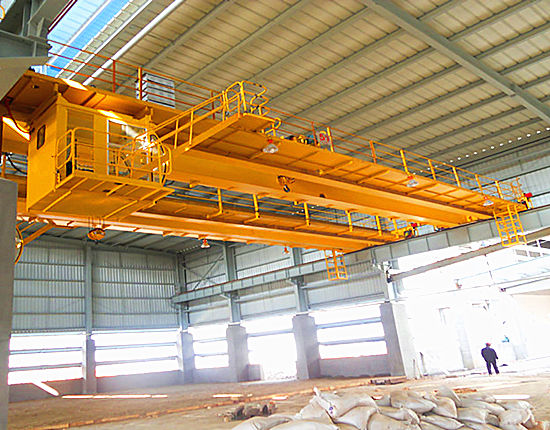 Warehouse double girder crane from Ellsen
