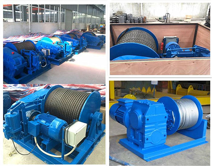 Winches supplied by Ellsen