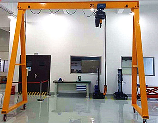 Workshop crane for sale