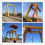 Gantry Cranes Installation in Chile