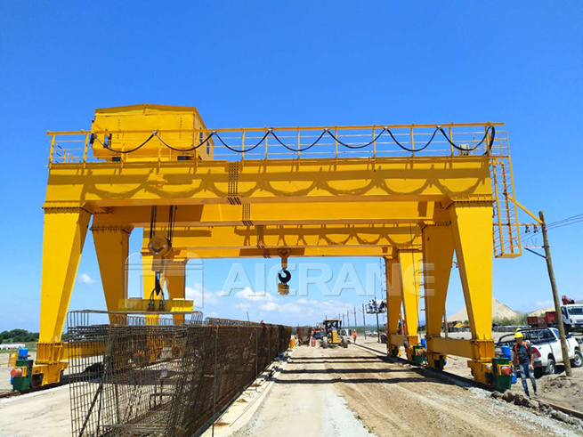 double girder crane in Argentina