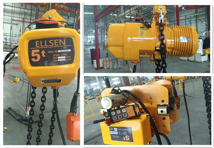 5 ton chain hoist from us