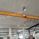 LH 20 ton and LD 2 ton Overhead Cranes Installed in Uzbekistan