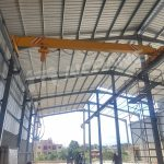 5t Overhead Crane and 5t Chain Hoist Installed in Dominica