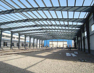 Steel structure supplied by reputable supplier