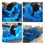 30 Ton Towing Winch for Nigerian Client