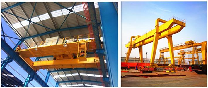 bridge crane and gantry crane