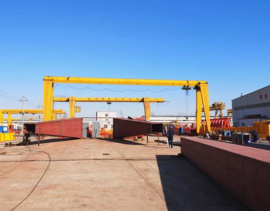 5 ton single girder gantry crane for sale