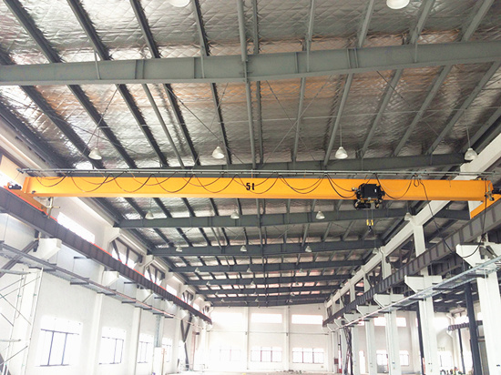 European single girder crane