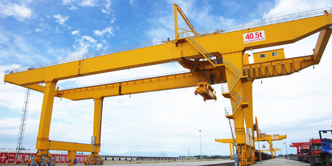 RMG 40.5 ton gantry crane