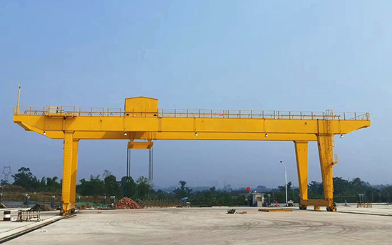 double girder gantry crane 32ton