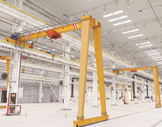 quality semi gantry crane