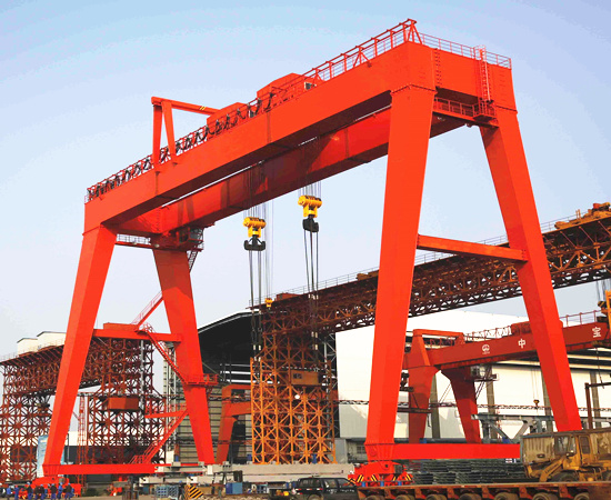 AQ-ME double girder gantry crane