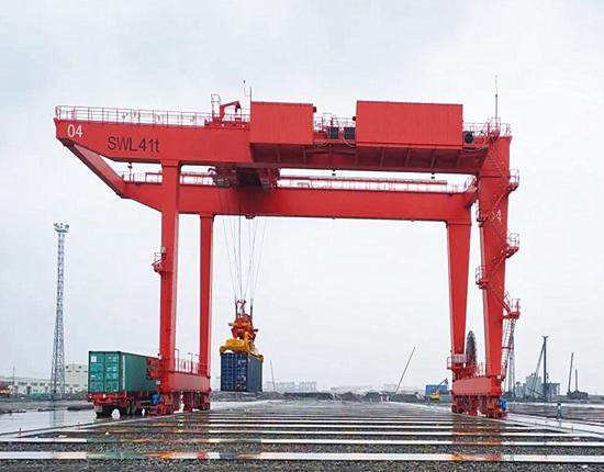 Rail mounted gantry crane with reasonable price