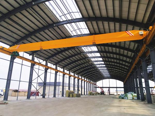 10ton single girder overhead crane