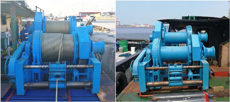 12ton hydraulic winch for sale