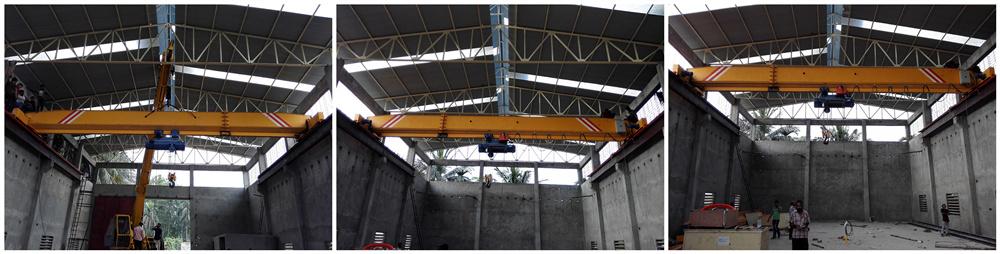 16ton overhead crane
