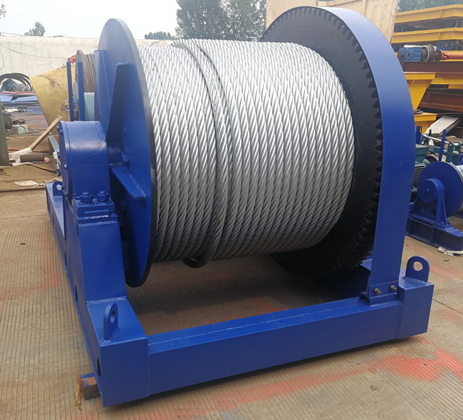 30 ton construction winch