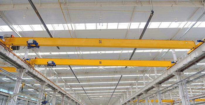 5 ton single girder overhead crane