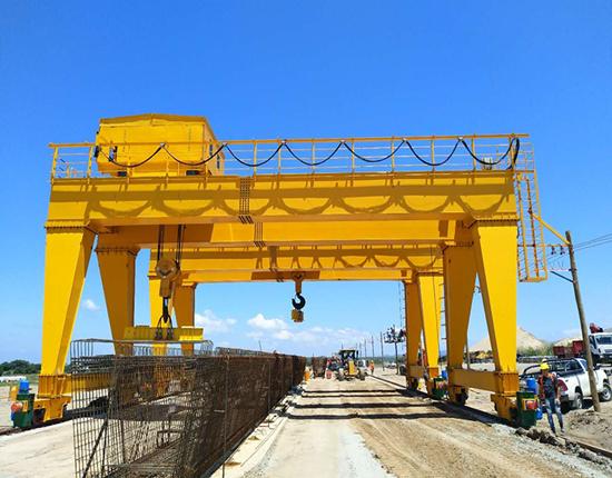 70ton double girder gantry crane