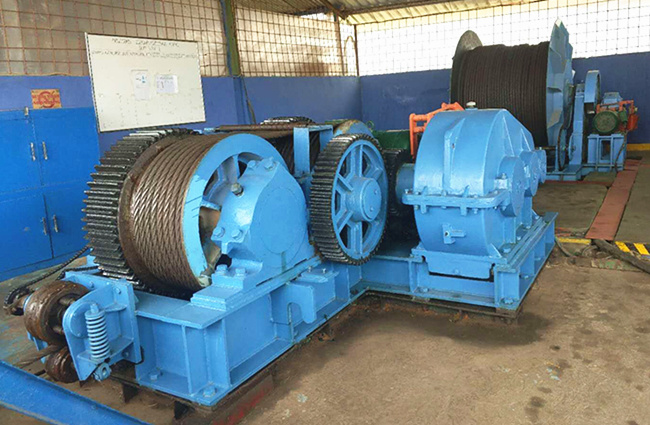 AQ-JMM construction winch with good quality